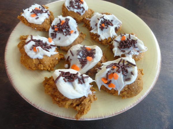Healthier Than Candy Pumpkin Cookies Recipe