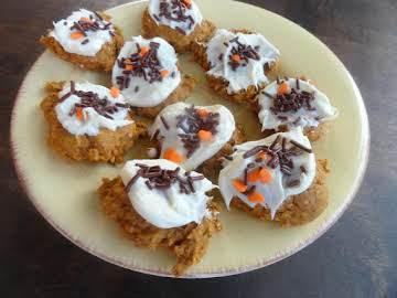 Healthier Than Candy Pumpkin Cookies