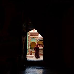 Hemis Gompa by Abhishek Majumdar - Buildings & Architecture Places of Worship ( madhur, sarbajit, vikram, nitesh, prithvi )