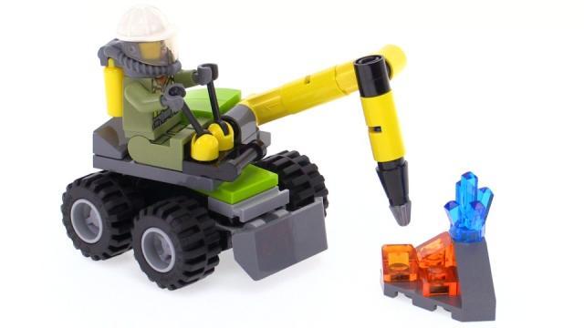 Lego City Volcano Jackhammer (Lego City 30350)