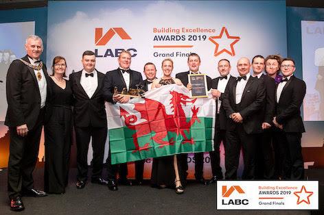 National award for Powys