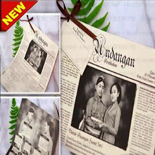 The latest wedding invitation design - náhled