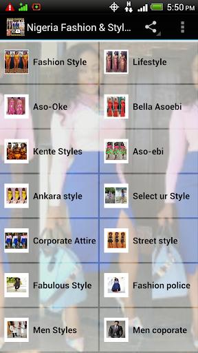 Nigeria Fashion Style