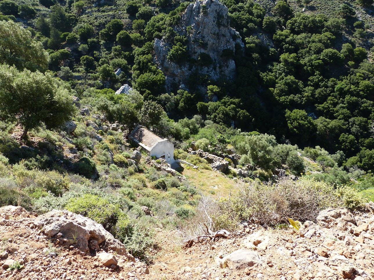 Kerkjes kom je overal tegen op Kreta