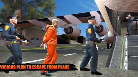 Police Airplane Prison Escape 1.6 screenshot 1108693