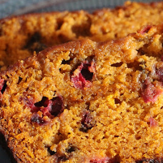 Libby's Ridiculously Moist Pumpkin Cranberry Bread.