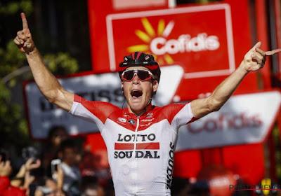Vuelta 2019: voici les onze Belges qui prendront le départ