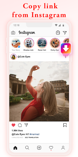 Video-Downloader für Insta - Repost für Instagram-Screenshots 1