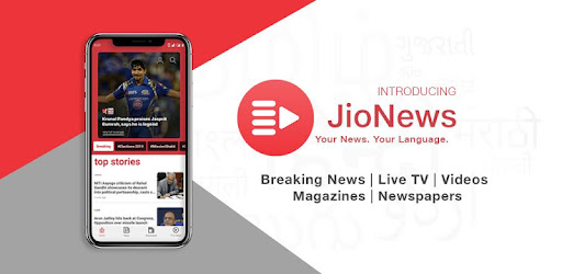 JioNews – Live TV, Cricket, Magazines, Newspapers - Apps on Google Play