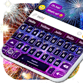 Fireworks New Years 2019 Keyboard Android APK Download Free By Smart Emoji Keyboard Themes