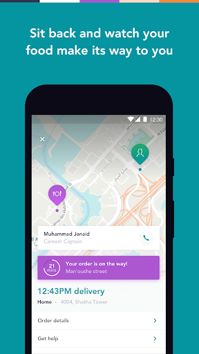 Careem NOW: Food Delivery 12.4.1 screenshots 2