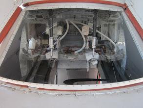 Photo: Inside an Apollo craft at the Kennedy Space Center / NASA