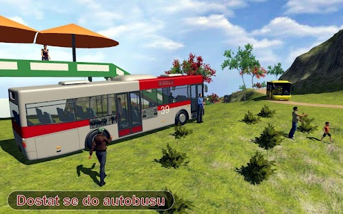 terénní do kopce šílený autobus dobrodružství - náhled