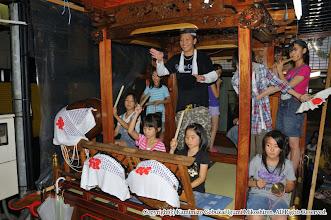 Photo: 【平成21年(2009) 宵々宮】  お囃子の練習も山車の上で総仕上げ。