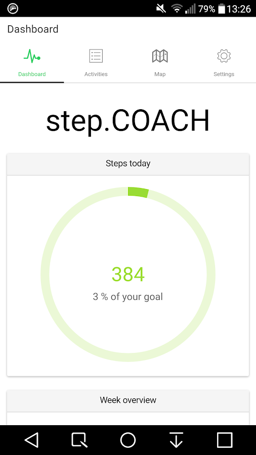 step.COACH – Screenshot