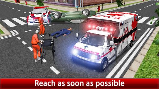 玩免費模擬APP|下載City Ambulance Rescue Duty app不用錢|硬是要APP