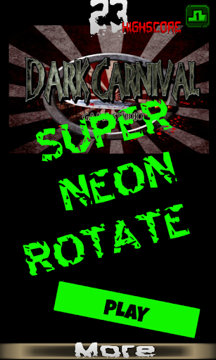 super fast neon rotate extreme