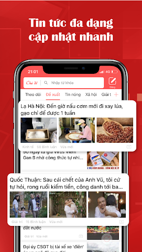 VN Ngu00e0y Nay - Bu00e1o mu1edbi, u0111u1ecdc bu00e1o online 3.15.7 screenshots 2