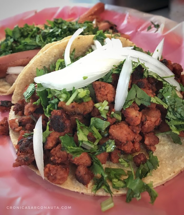 Tacos veganos en la ciudad de méxico