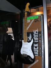 "Photo: Guitar Center Legends booth: Clapton's ""Blackie"""