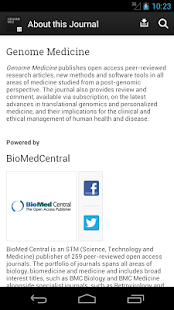 Genome Medicine- screenshot thumbnail