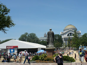 Photo: The Festival is held outdoors on the National Mall in Washington, D.C., between the Smithsonian museums. There is no admission charge.