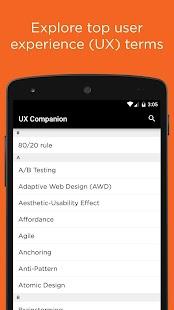 UX Companion - náhled