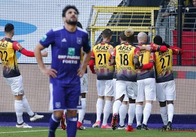 Le Sporting d'Anderlecht a perdu des points au Parc Astrid contre le FC Malines