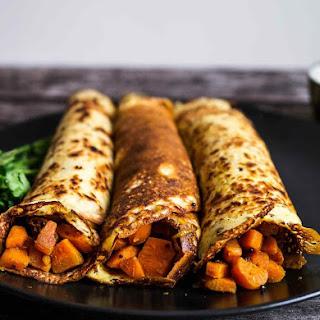 Indian Filled Pancakes.