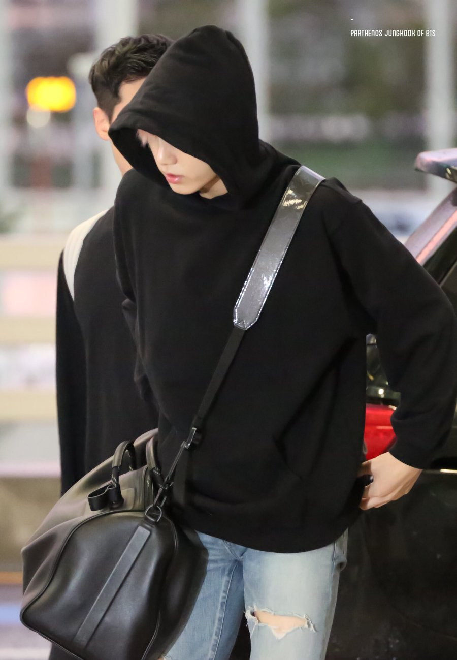 BTS Jungkook s Favorite Black Bag Has A Special Meaning Behind It