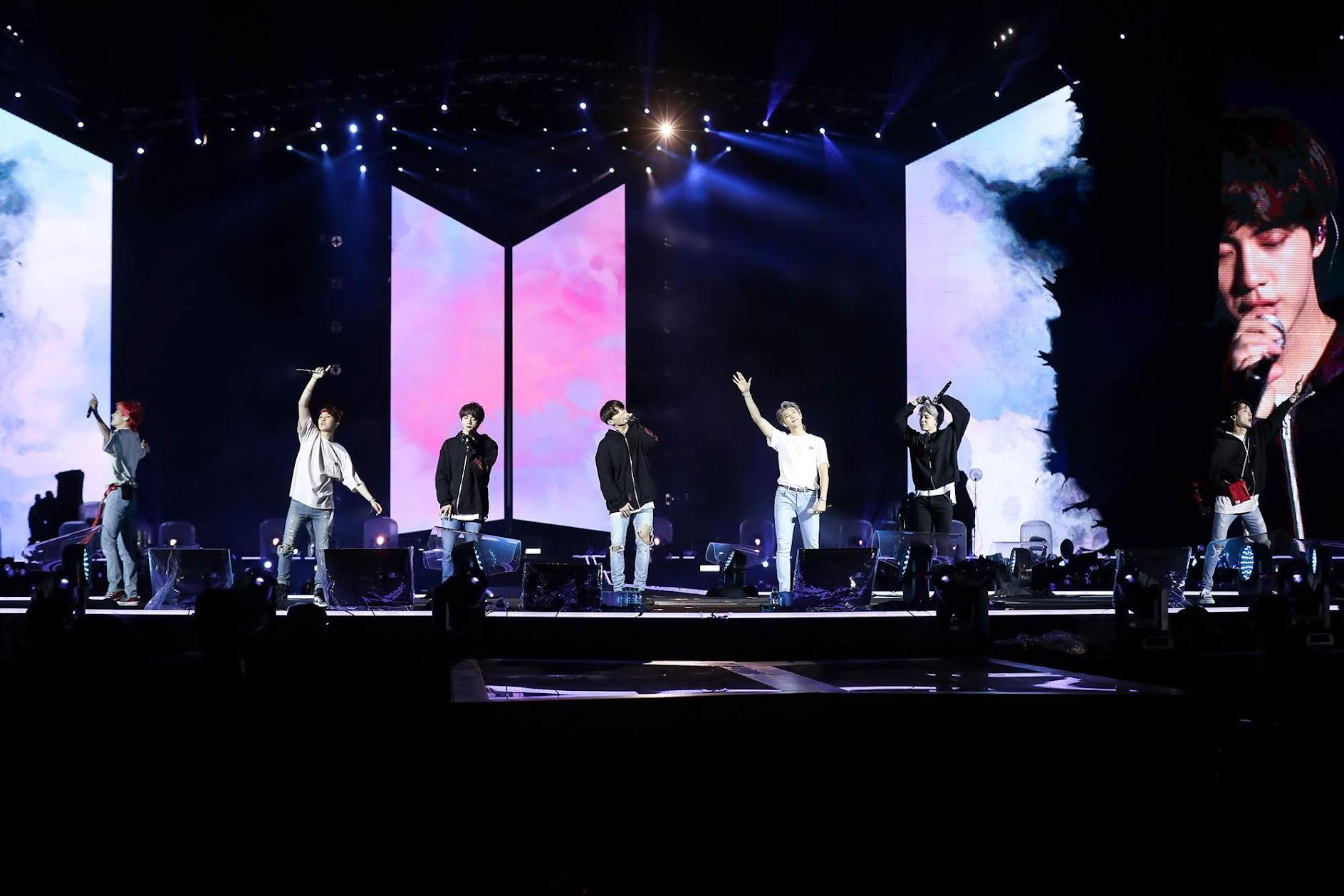【迷迷現場】BTS防彈少年團 登台 宣稱台灣「這是我們家」