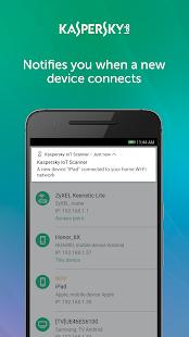 Screenshots of Kaspersky Smart Home & IoT Scanner (Unreleased) for iPhone