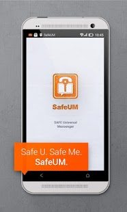 Secure messenger SafeUM- screenshot thumbnail