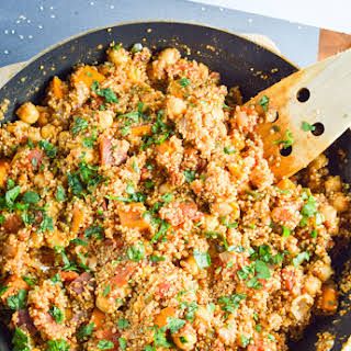 One Pot Tandoori Quinoa.