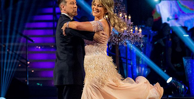 Ruth Langsford ends up bottom of the Strictly Come Dancing leaderboard
