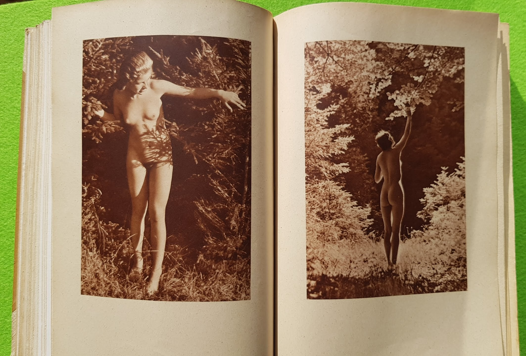 Geist und Schönheit, 1940 - Sammelband mit allen erschienenen Heften plus zwei weiteren Freikörperkultur-Ausgaben