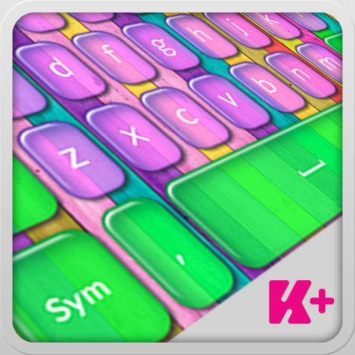键盘加色的疯狂 LOGO-APP點子