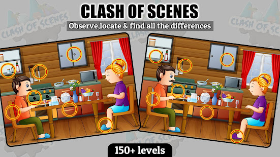 Find The Differences - Clash Of Scenes