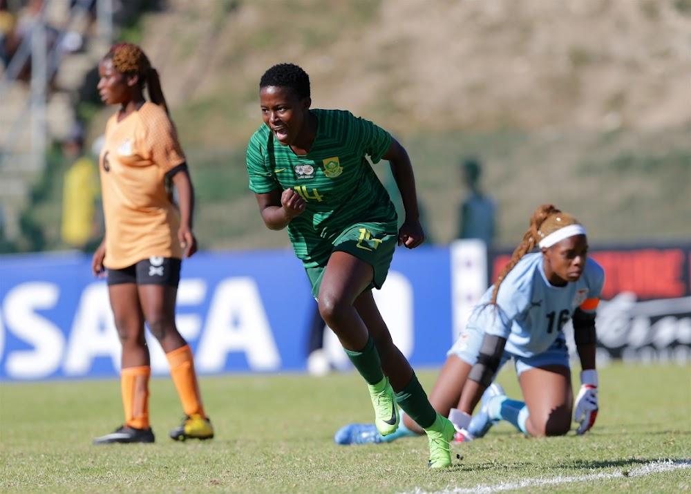 Banyana het Zambië geklop om Cosafa-trofee te lig