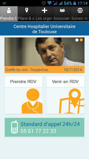 CHU de Toulouse screenshot 1
