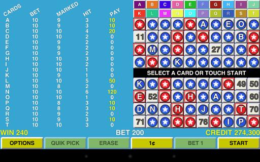 Keno 20 MultiCard Vegas Casino