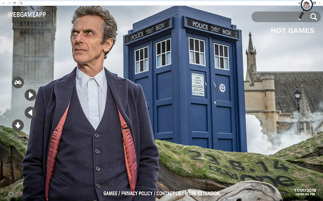 Doctor Who HD Wallpapers New Tab