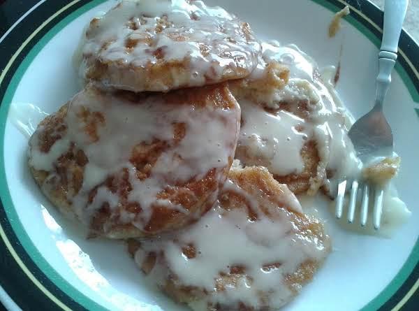 Cinnabon Pancakes
