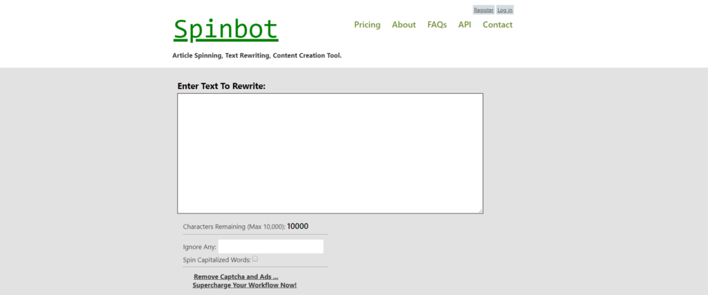 Spinbot - Article Rewriter & Article Spinner Tools