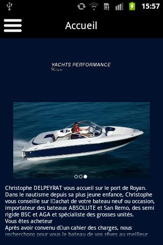 Yachts Performance