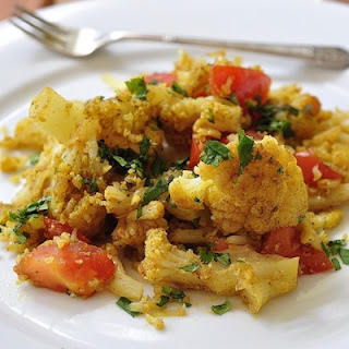 Spicy Cauliflower Curry