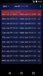 Simple VoC Moon Calendar Lite - náhled
