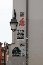 Photo: Street art -Oré (en haut) Gz'Up - Paris XIIIe -La butte aux cailles
