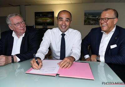Le président de la Fédé Gérard Linard évoque Roberto Martinez et son avenir