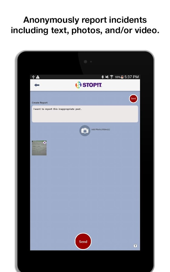 STOPit- screenshot